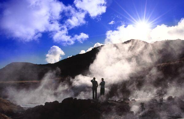 krysuvik seltun steam vents Iceland