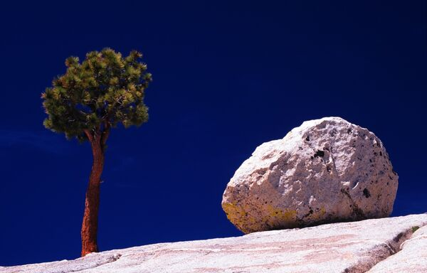 Olmstead point Yosemite USA