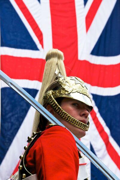 Horse guard parade London