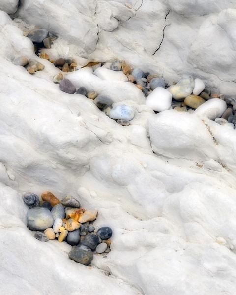 Limestone and Pebbles