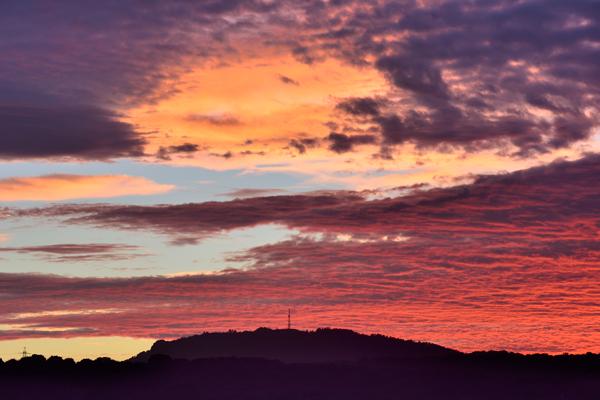 Wrekin Sunset