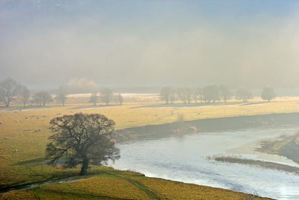 River Severn at Leighton