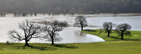 Severn in Flood