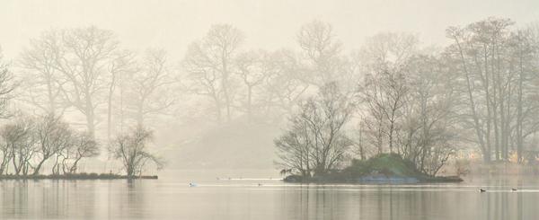 Misty Rydal Water
