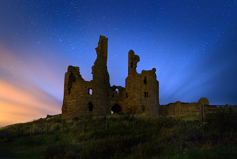 Starry Night Dunstanburgh
