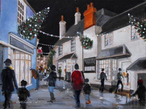 Bell Cliff Christmas, Lyme Regis