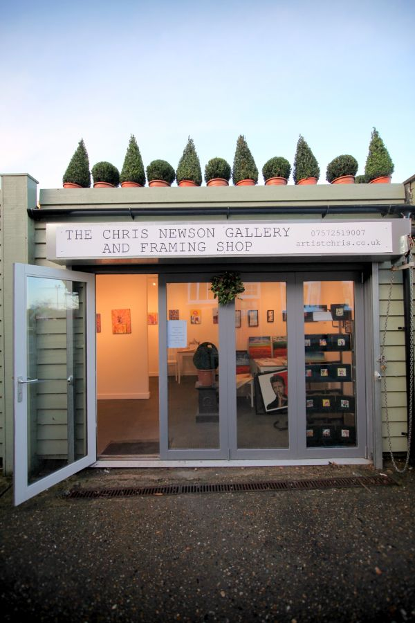 chris newson framing shop and art gallery for hire
