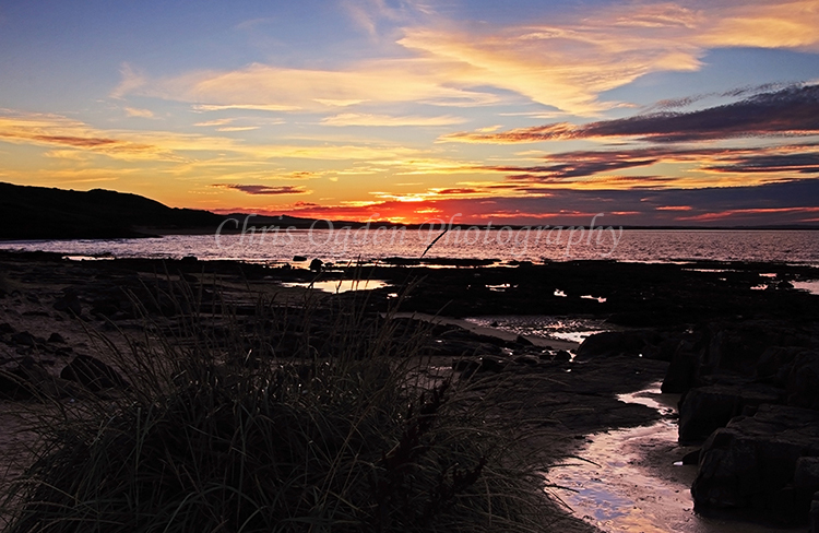 Sunset over Budle Bay #5