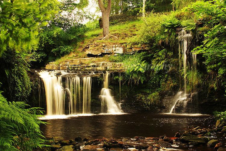 Crimsworth Dean Waterfall