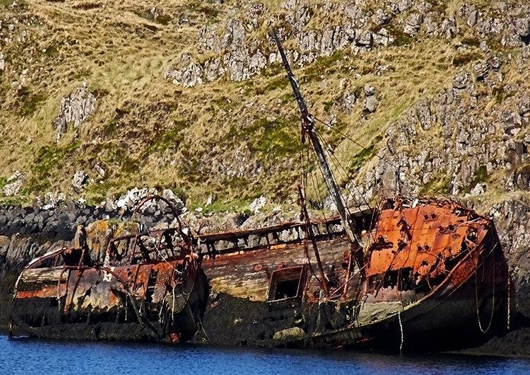 Old Wreck at Stykkisholmur #1
