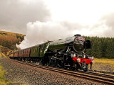 Flying Scotsman at Blea Moor