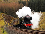 Flying Scotsman at Blea Moor #2