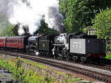 Double Header at Keighley and Worth Valley Railway