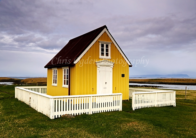 Yellow House at Flatey