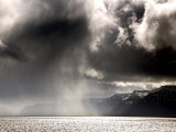 Dark Skies Over Arnarfjorour Fjord #1