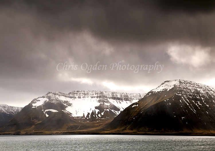 Dark Skies Over Arnarfjorour Fjord #2