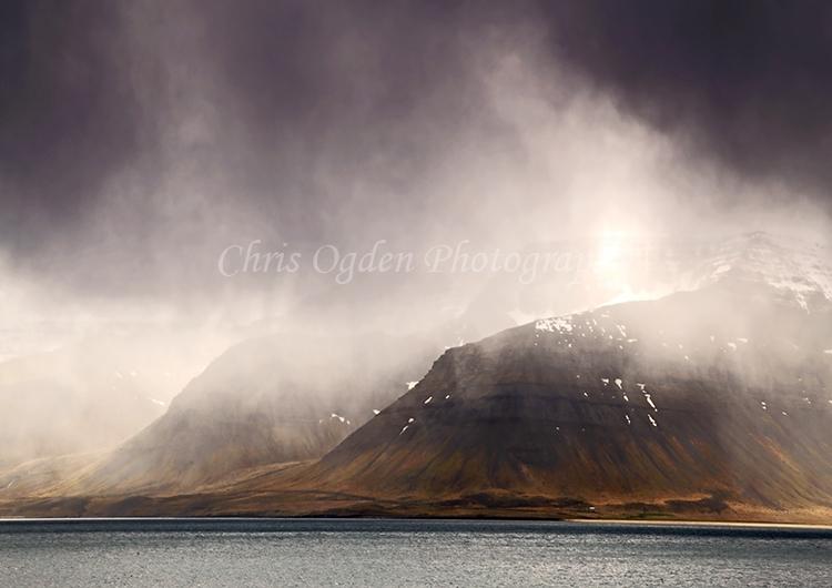 Dark Skies Over Arnarfjorour Fjord #4