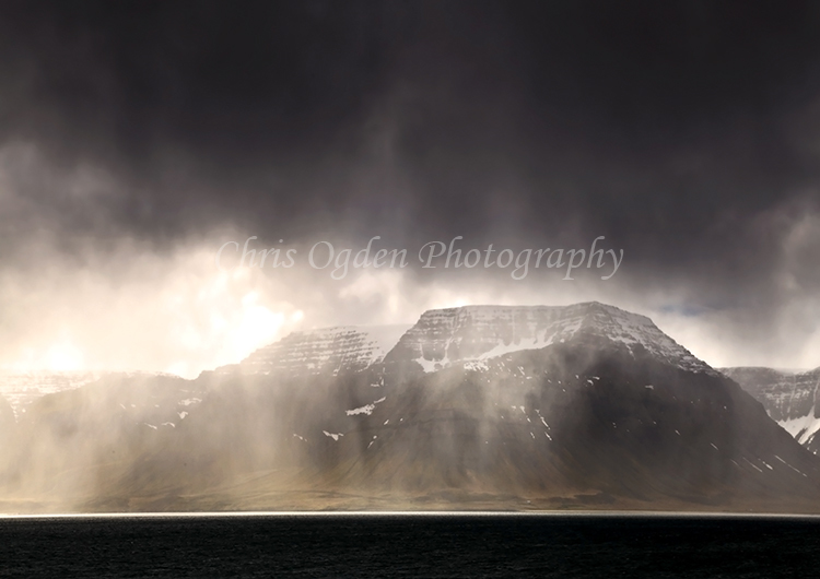 Dark Skies Over Arnarfjorour Fjord #6