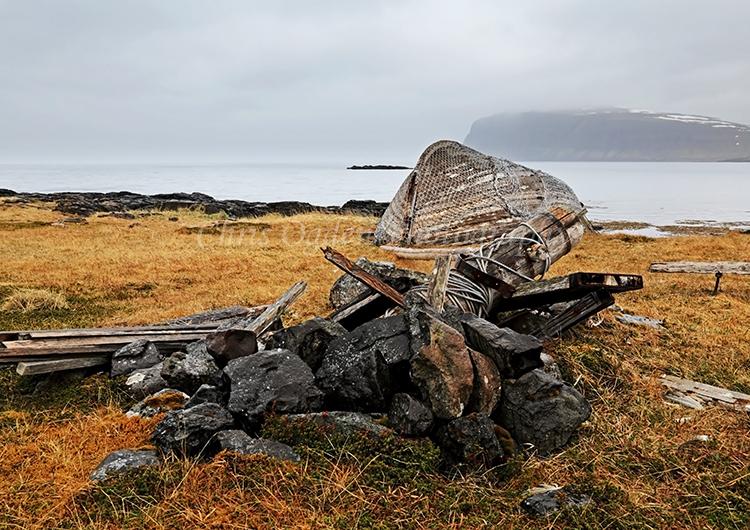 Old Boat at Reykjafjordur #2