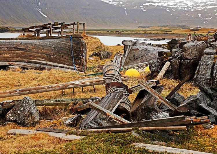 Old Boat at Reykjafjordur #3