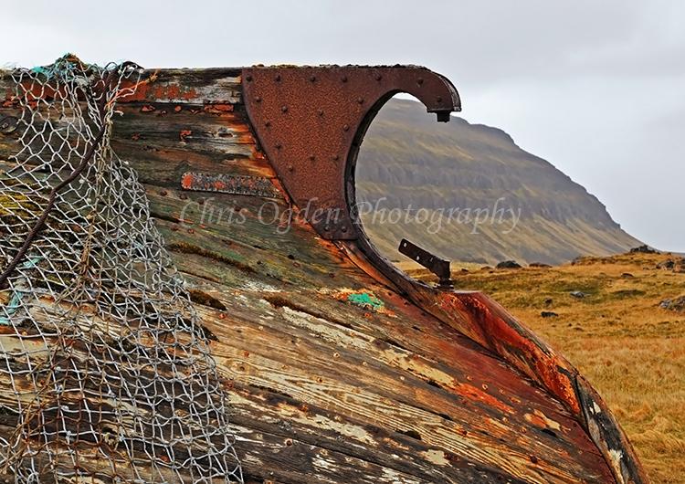 Old Boat at Reykjafjordur #4