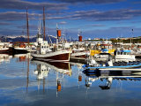 Reflections in Husavik Harbour #3