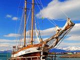 Tall Ship in Husavik Harbour