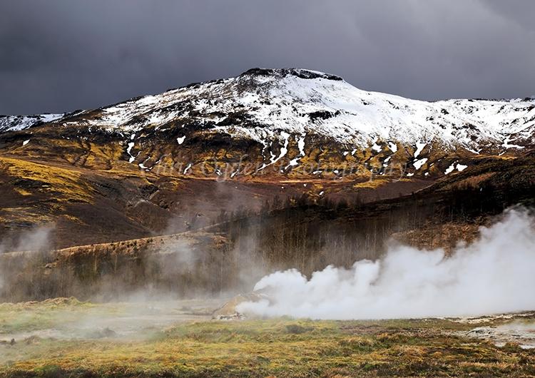 Icelandic Geysir Geothermal Area #1