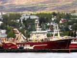 Arriving at Akureyri