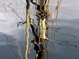 Tall Ship Rigging Reflection