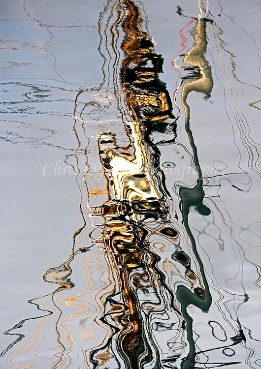 Tall Ship Rigging Reflection #4