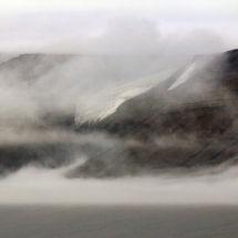 Mist over Glacier