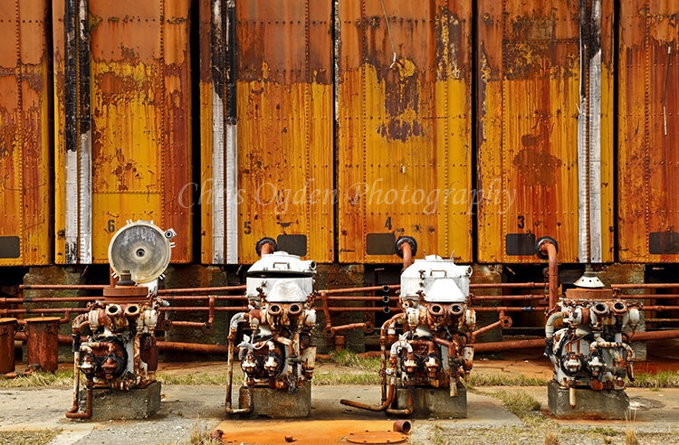 Rusting Whaling Industry Relics #9