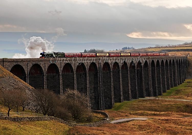 Flying Scotsman Heading North