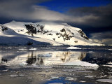Antarctic Mountain Reflection 1