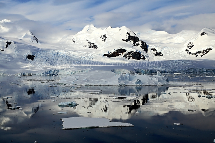 Antarctic Mountain Reflection 2