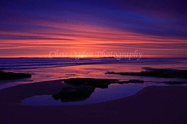 Sunrise over the Farnes