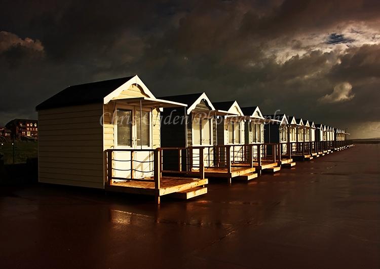 Stormy Beach Huts
