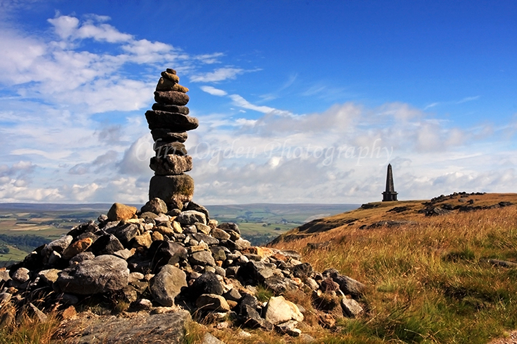 Cairn on the Pennine Way