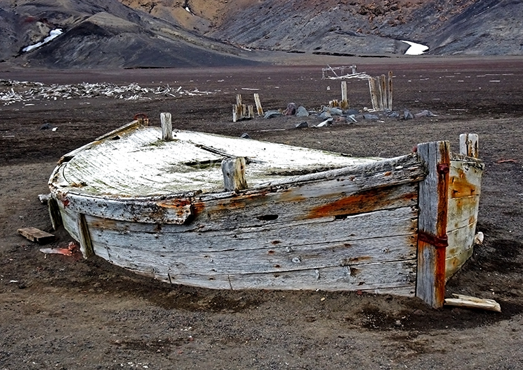 Abandoned Whaling Boat #2