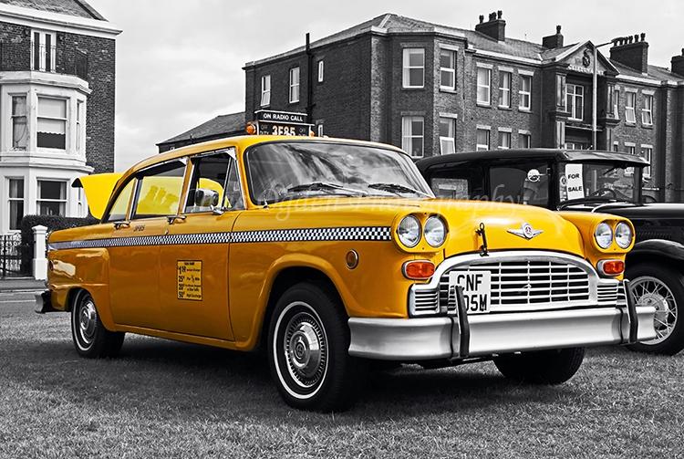 American Yellow Taxi