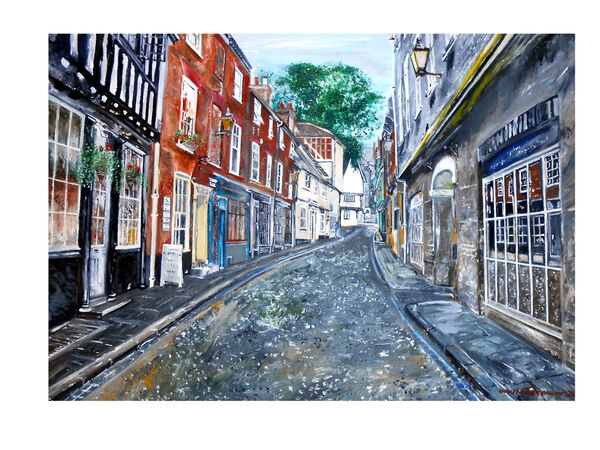 'That old street Elm hill'  Norwich