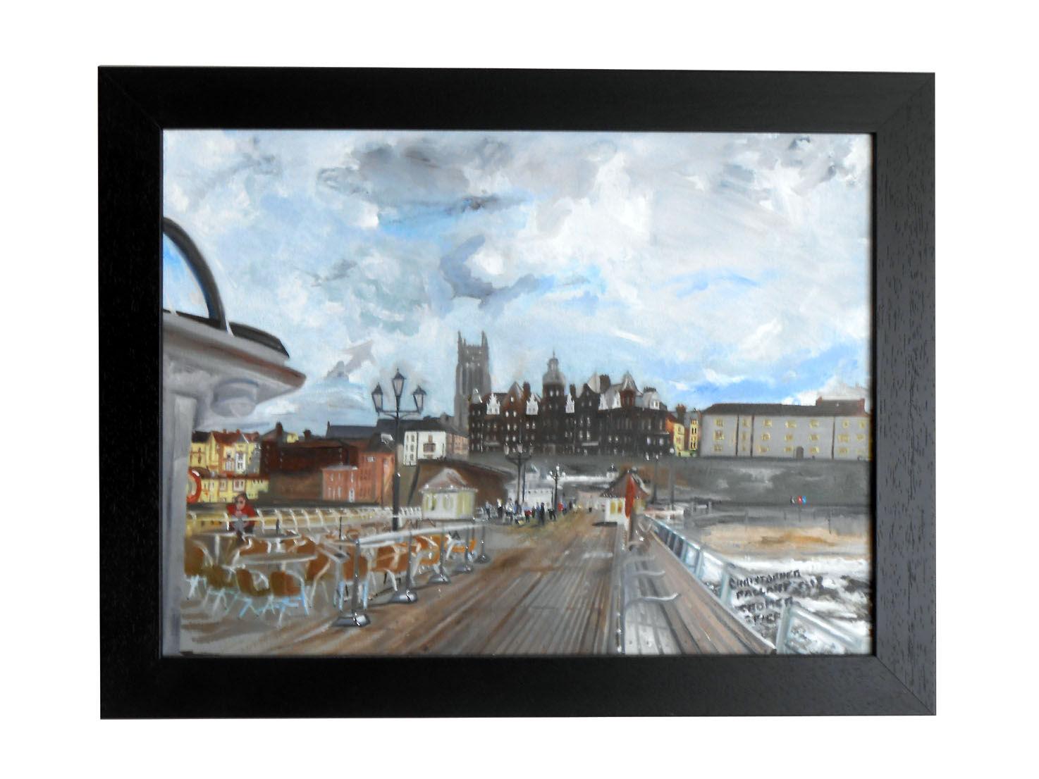 'On Cromer pier'