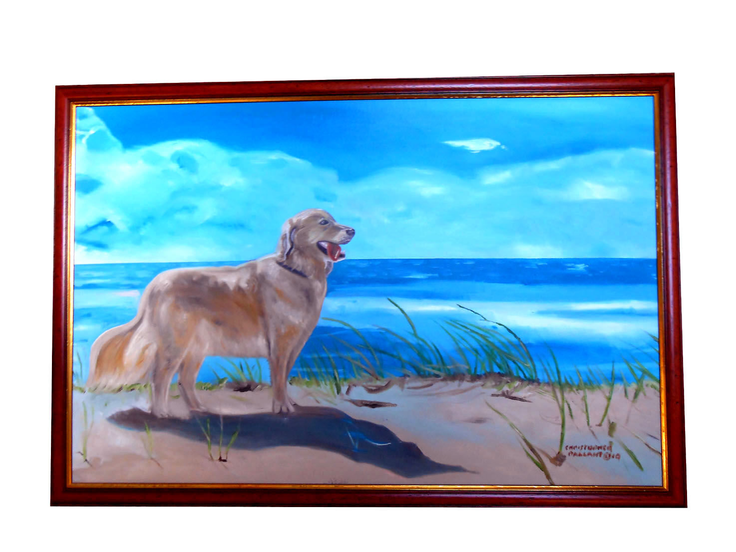'Fun in the sun' Oil on canvas