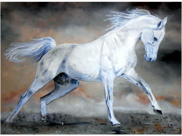 'Galloping Stallion'