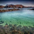 Clear seas near Loch a Mhuillin