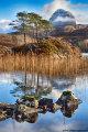 Suilven & Loch Druim Suardelain