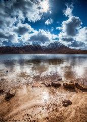 Glas Bheinn & Sandy Loch
