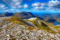 Quinag from Glas Bheinn ridge.