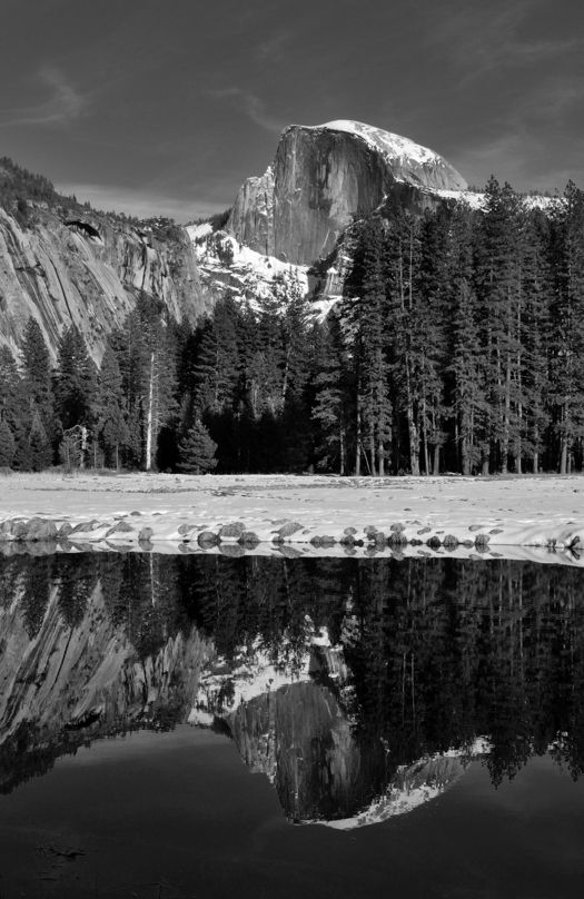 Half Dome Reflection